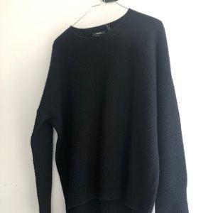 Theory cashmere black sweater size M